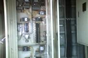 共用 各部屋分電盤 配線整理後、予備電源用に配線更新