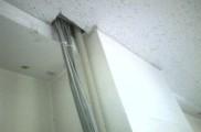 IDFから引込み用CD管床下まで配管