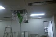 天井空調 薬品洗浄