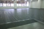 床面 OAフロアー施工完了