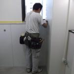 新宿区 Sビル トイレ改修中